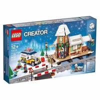 LEGO Creator 10259 Железнодорожная станция зимой