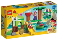 LEGO Duplo 10513 Штаб пиратов Нетландии