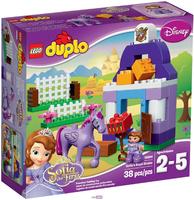LEGO Duplo 10594 Королевская конюшня Софии Прекрасной