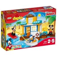 LEGO Duplo 10827 Пляжный домик Микки и его друзей
