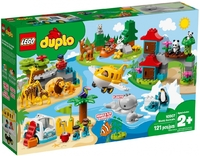 Lego Duplo 10907 Животные мира