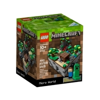 LEGO Minecraft 21102 Микромир: лес