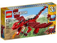LEGO Creator 31032 Огнедышащий дракон