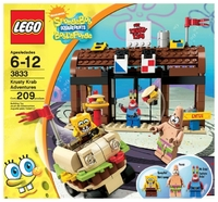 LEGO SpongeBob 3833 Krusty Krab Adventures