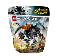 LEGO Hero Factory 44021 Чудовище Сплиттер против Фурно и Эво