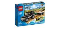 LEGO City 60058 Внедорожник с катером
