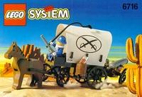 LEGO System 6716 ОРУЖЕЙНЫЙ ТРАНСПОРТ ФОРТА АВАЛОН