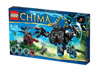 LEGO Legends of Chima 70008 Боевая машина гориллы Горзана