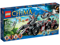LEGO Legends of Chima 70009 Бронетранспортер волка Воррица
