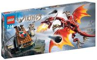 LEGO Vikings 7017 Катапульта викингов против Дракона Нидхёгг