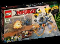 LEGO The Ninjago Movie 70610 Летучая субмарина «Медуза»