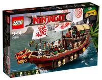 LEGO The Ninjago Movie 70618 Летающий корабль мастера Ву