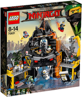 LEGO The Ninjago Movie 70631 Логово Гармадона в жерле вулкана