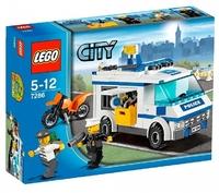 LEGO City 7286 Перевозка заключённых