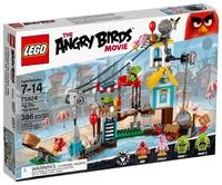 LEGO The Angry Birds Movie 75824 Разгром Свинограда