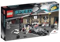 LEGO Speed Champions 75911 Пункт техобслуживания McLaren Mercedes