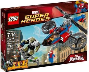 LEGO Super Heroes 76016 Спасательная операция на вертолете Человека-Паука