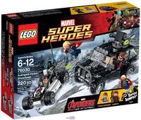 LEGO Marvel Super Heroes 76030 Поединок Мстителей и Гидры