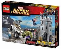 LEGO Marvel Super Heroes 76041 Нападение на крепость Гидры