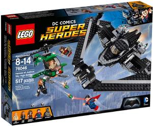 LEGO DC Super Heroes 76046 Герои правосудия: сражение в небе