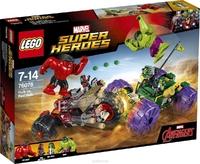 LEGO Marvel Super Heroes 76078 Халк против Красного Халка
