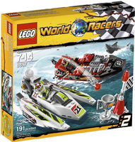 LEGO Racers 8897 Jagged Jaws Reef