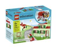 LEGO Education PreSchool 9386 Набор дверей, окон и черепицы