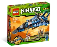 LEGO Ninjago 9442 Джей и его штормовой истребитель