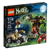 LEGO Monster Fighters 9463 Оборотень