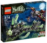 LEGO Monster Fighters 9467 Поезд-Призрак